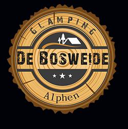 Glamping De Bosweide, Alphen Logo